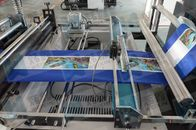 Full Automatic Non Woven Box Bag Making Machine With Online Handle Attach